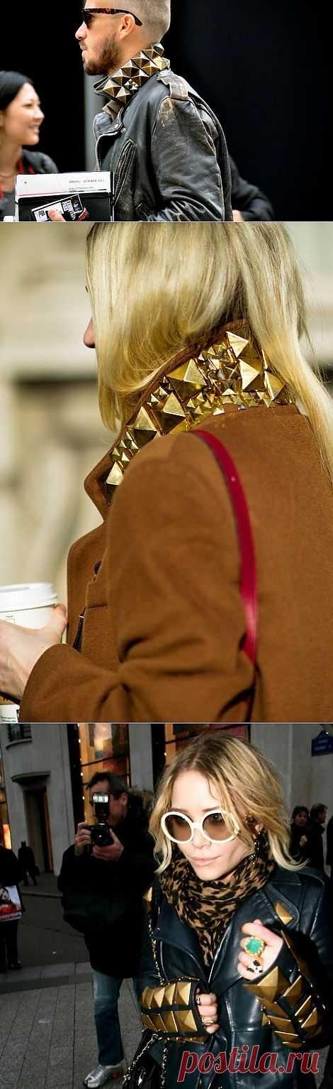 Большие клепки (подборка) / Декор / Модный сайт о стильной переделке одежды и интерьера