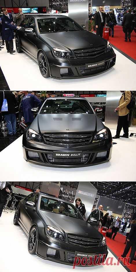 Mercedes C-class Brabus c 730-сильным V12 мотором.