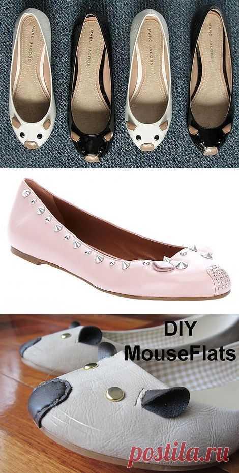 Мыши Marc Jacobs (DIY) / Обувь / Модный сайт о стильной переделке одежды и интерьера