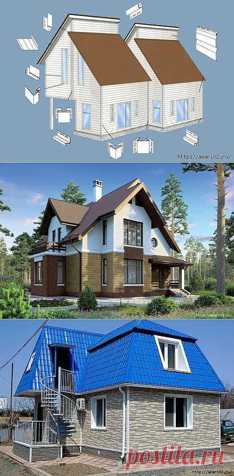 Фасадный сайдинг- великолепный внешний вид Вашего дома.