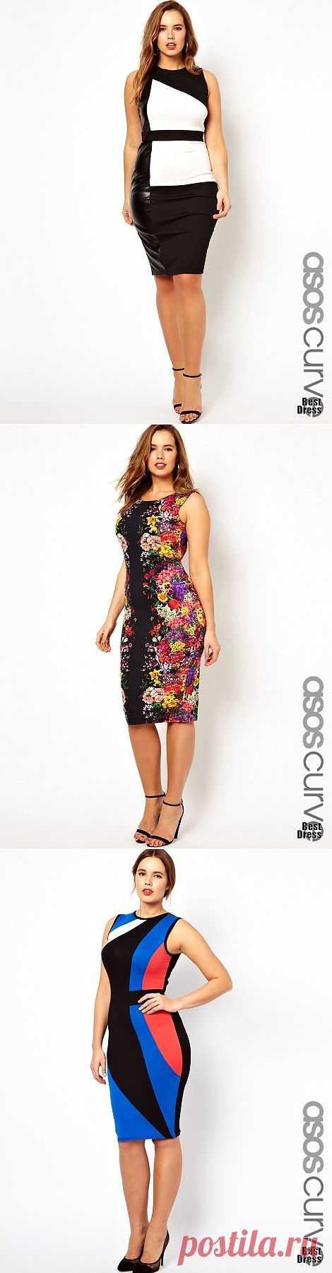 Платья Asos для крупных фигур (трафик) / Большие размеры / Модный сайт о стильной переделке одежды и интерьера