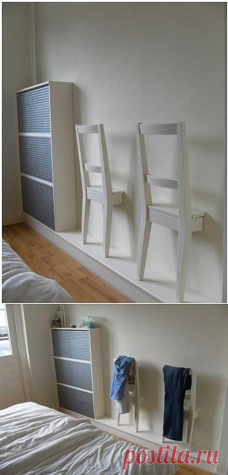 Полки для одежды в спальню (мастер-класс) / Мебель / ВТОРАЯ УЛИЦА
