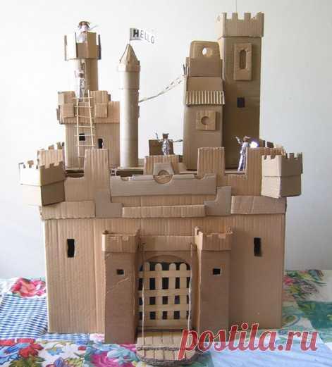 Замок пони своими руками