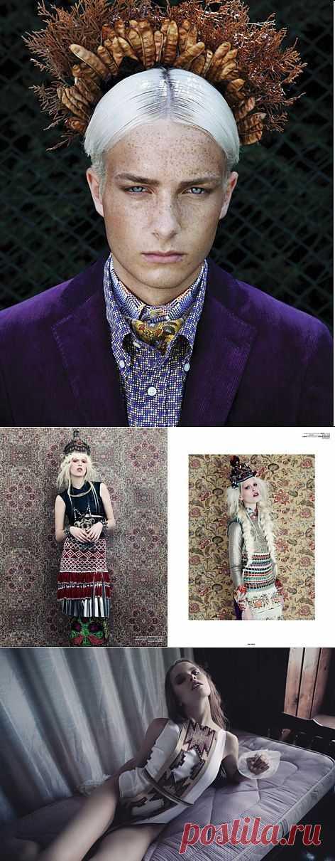 Узоры, бисер, радуга и лев / Обзор журналов / Модный сайт о стильной переделке одежды и интерьера
