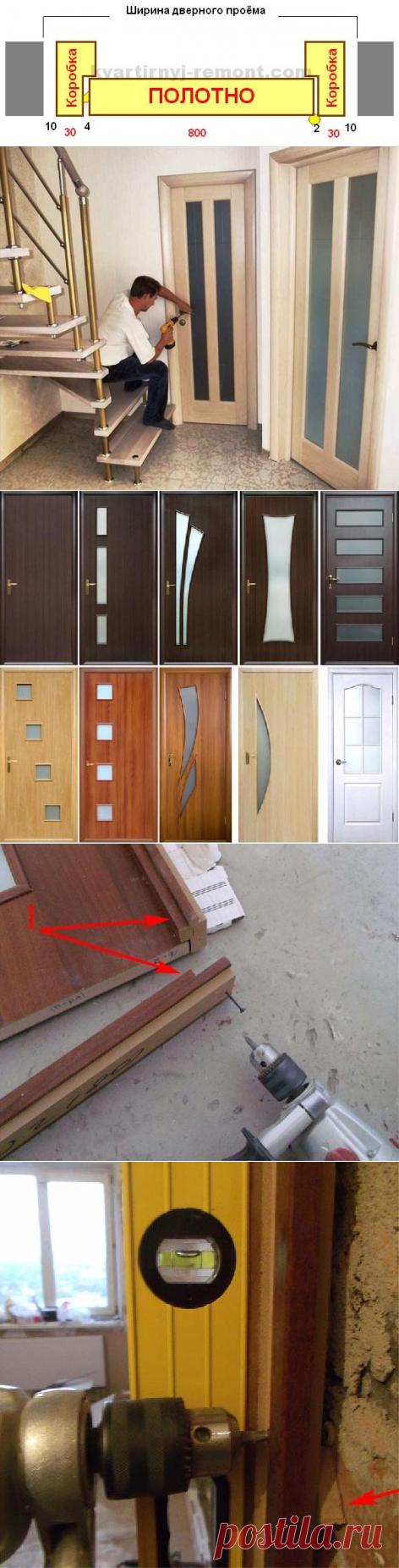 Как самостоятельно установить дверь в квартире между комнатами своими руками. Инструкция по установке и монтажу межкомнатной двери с наглядными пошаговыми фото и схемами