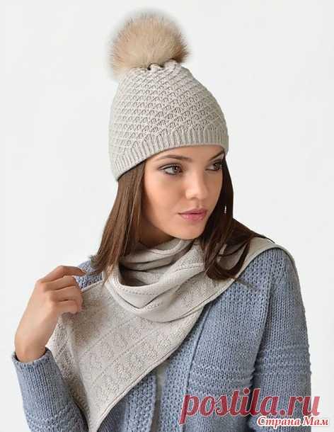 Зимняя вязанная мода 2017 года - Вязание - Страна Мам