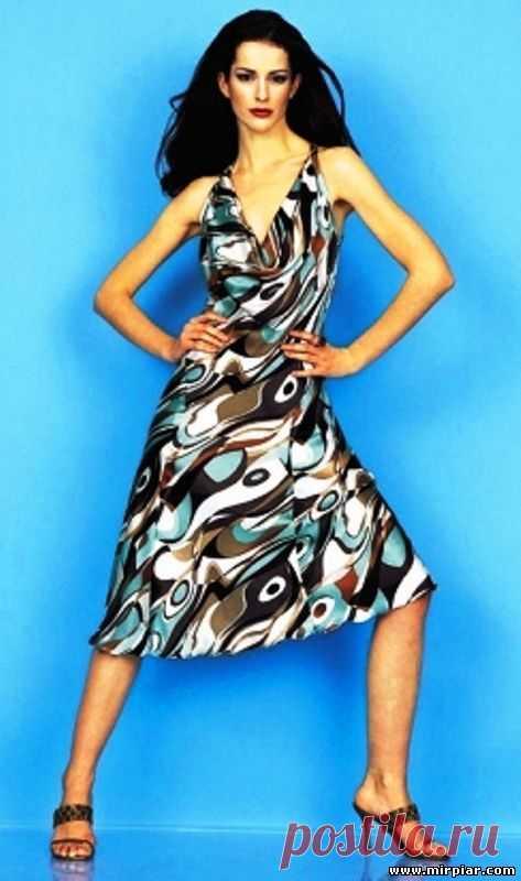 7d7fb014ffd летнее платье выкройка - Самое интересное в блогах