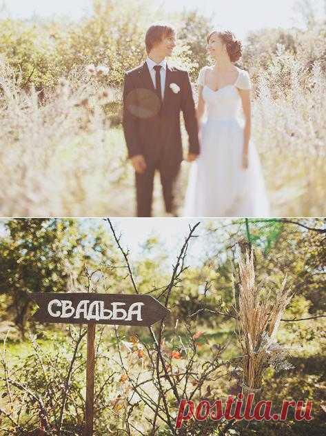 Солнечное счастье: свадьба Ксении и Олега - WeddyWood