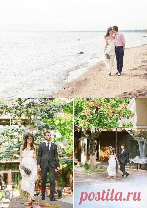 Красота в простоте: свадьба Паши и Дианы - WeddyWood
