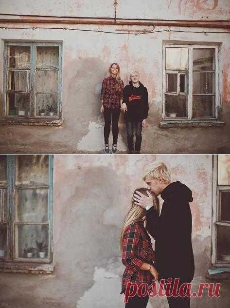 Обычный день из жизни: love-story Димы и Леры - WeddyWood