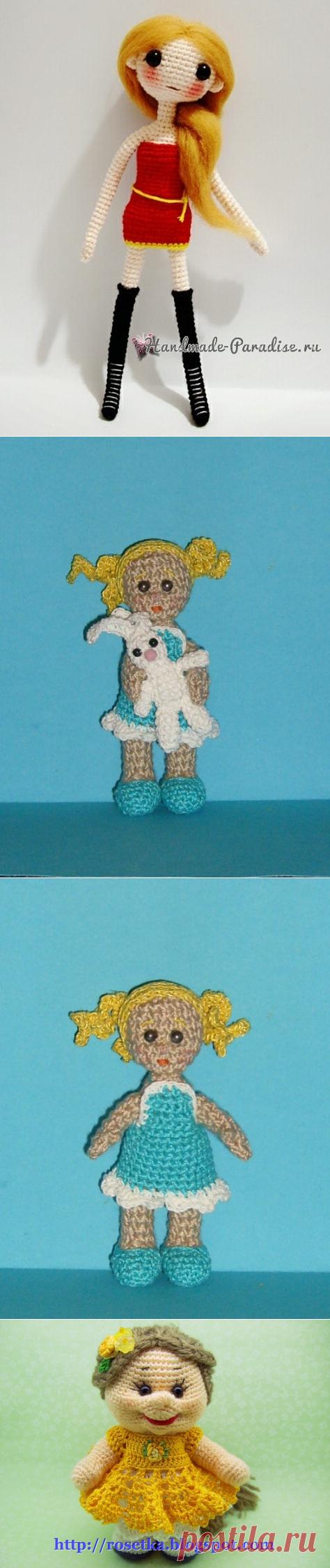 куколка амигуруми - Самое интересное в блогах