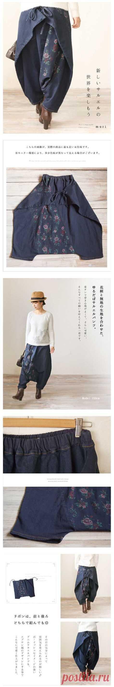 Брюки-пузырек Модная одежда и дизайн интерьера своими руками