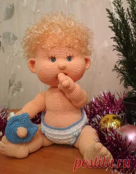Пупсик Вовочка.  Вязаная игрушка. Вязаный пупсик. Амигуруми. Амигуруми пупсик. Мастер-класс по вязанию крючком #пупсиквовочка  #кукла  #вязанаяигрушка #вязанаяигрушкакрючком #вязанаякукла #вязаныйпупс #амигуруми #амигурумикукла #амигурумипупсик #вязание #игрушкакрючком #мастерклассповязаниюкрючком