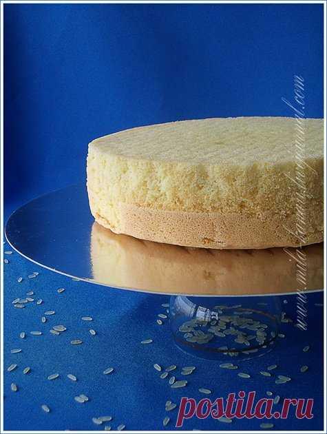 Бисквит на рисовой муке - Кулинарный романс — LiveJournal