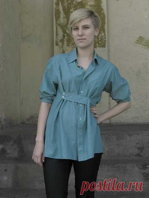 Когда рубашка велика / Изменение размера / Модный сайт о стильной переделке одежды и интерьера