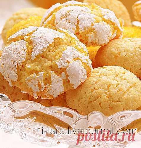 Миндально-апельсиновое печенье! Смотрю на фото и слышу его аромат.