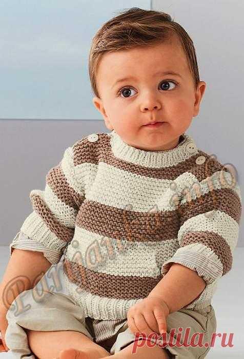 Пуловер (д) 14*167 Bergere de France №3826