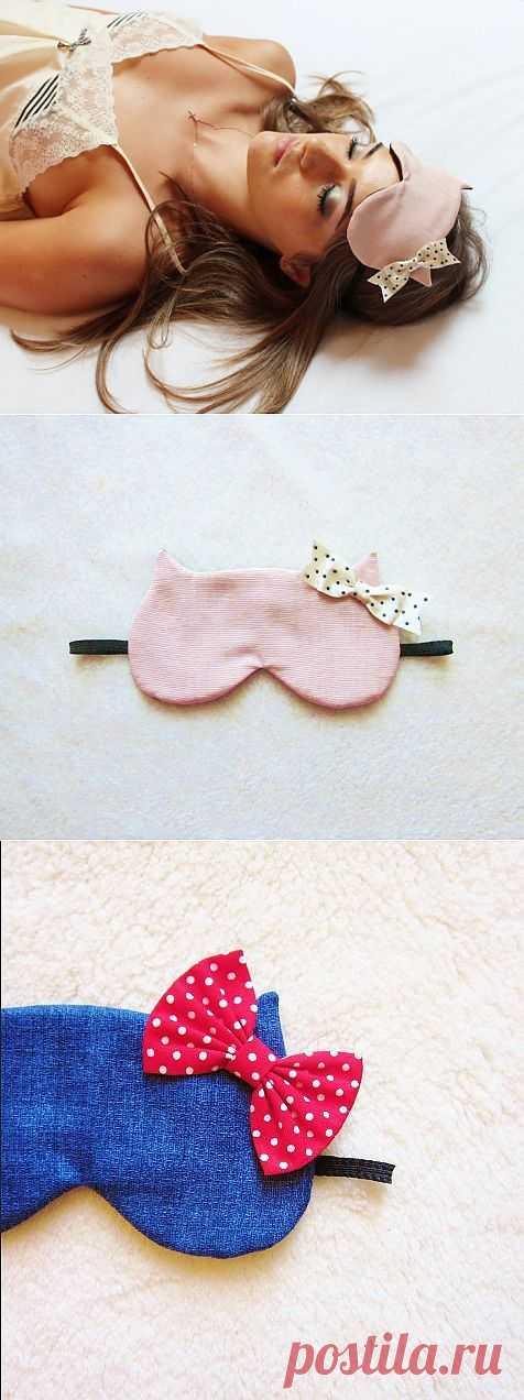 Повязки для сна (подборка) / Аксессуары (не украшения) / Модный сайт о стильной переделке одежды и интерьера