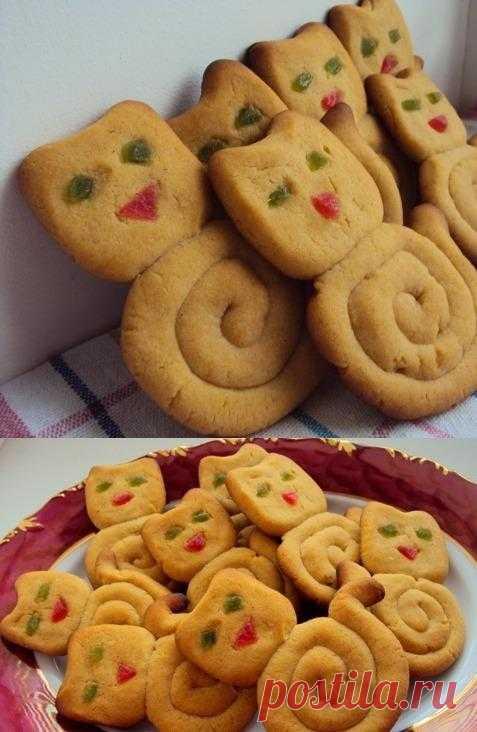 Пасхальное пряное печенье «Кошечки».