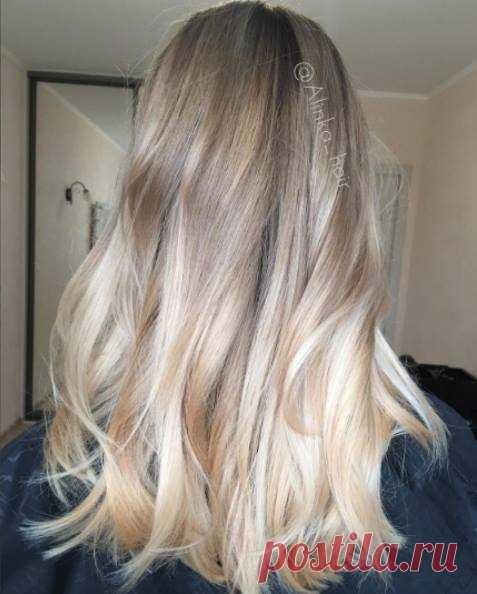 Нет предела в достижении блонда 📈💪🏻😀Девушки, не забывайте, что одного окрашивания недостаточно ❌, чтобы волосы выглядели шикарно и держались на голове 🤦🏻♂️