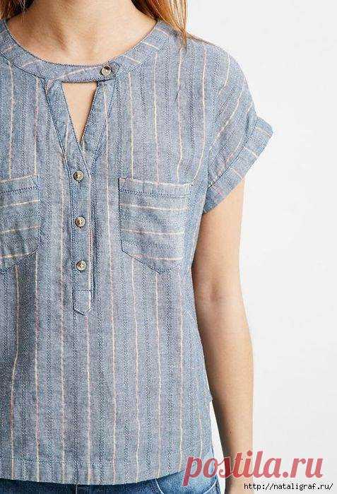 Идеи для шитья: модные детали в дело ( 20 фото ) | Краше Всех