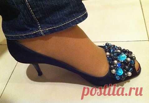 Угадайте какими были эти туфли вчера? / Обувь / Модный сайт о стильной переделке одежды и интерьера