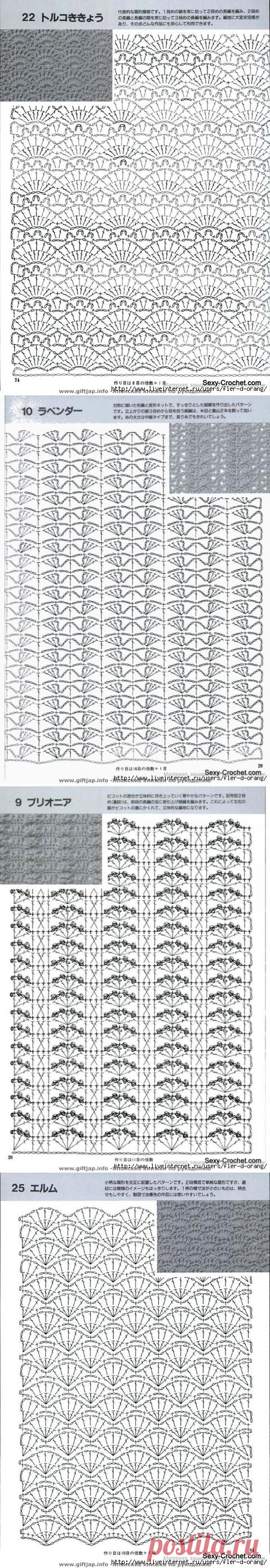 Схемы для юбок крючком - 1