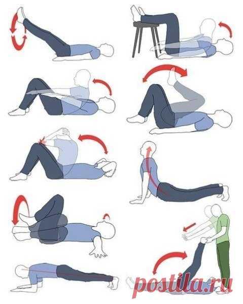 Комплекс упражнений на полчаса для поддержания формы