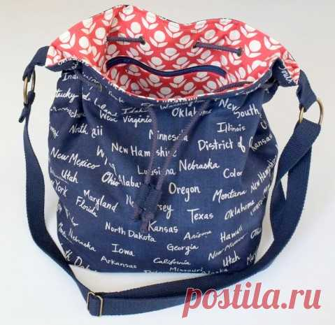 Мастер-класс по пошиву сумки-мешка