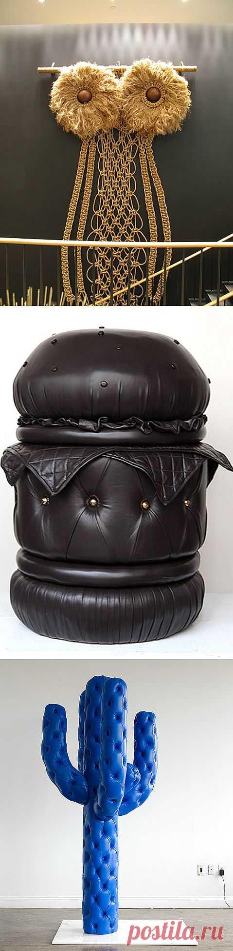 Творения Andy Harman / Арт-объекты / Модный сайт о стильной переделке одежды и интерьера