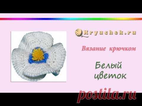 Tejido por el gancho la flor (Crochet flower)