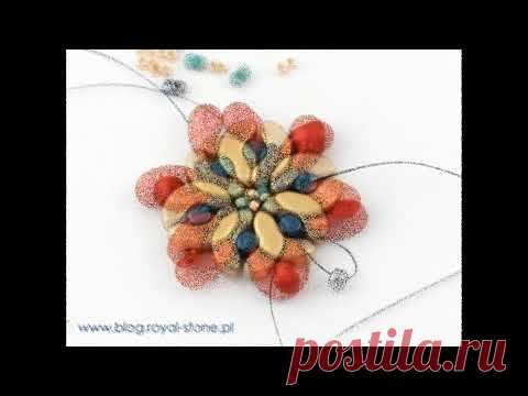beads-beautiful work and interesting tutorial-more on page !