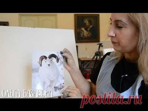 Как изображать белые предметы на белом фоне. Ольга Базанова