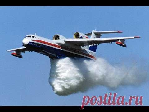 Бе-200: уникальный российский самолет-амфибия . Чёрт побери