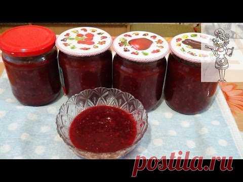 La salsa de las ciruelas para el invierno (tkemali), la receta sabrosa de la salsa a la carne y el pez - YouTube