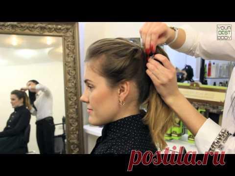 5 легких и быстрых причесок на каждый день   Hairstyle Tutorial   YourBestBlog