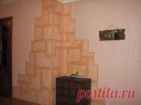 Как превратить в благородный мрамор и не только, стены вашего дома -2!!!