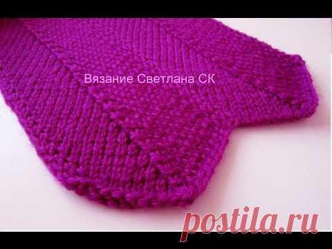 La cinta por los rayos de la ONDA knitting pattern