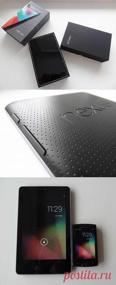 Google Nexus 7 - обзор