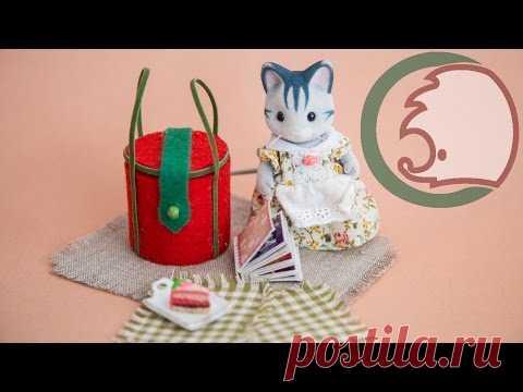 Как сделать корзину для пикника. How to make picnic basket