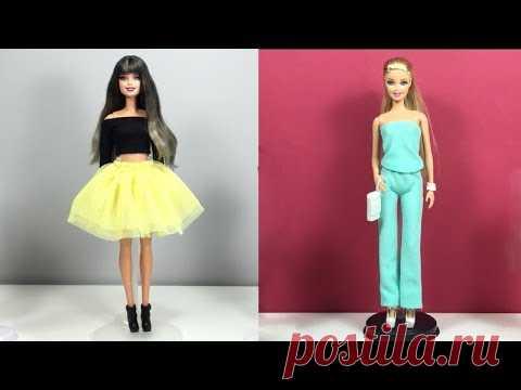 How To Make Barbie Clothes 👙 Barbie Clothes Life Hacks 👙 5 DIY Ideas For Barbie