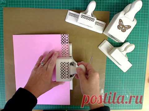 Amy Shaw How To Line Up Martha Stewart Border Punches