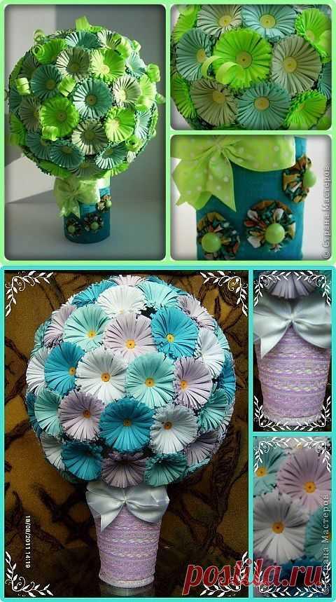 Цветочный шар ' Волшебный мир Алиши