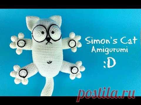 Амигуруми коты: схемы изделий с фото и видео для начинающих