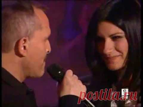 TE AMARE - Laura Pausini Y Miguel Bosé Con la paz de las montañas, te amaré; con locura y equilibrio, te amaré con la rabia de mis años, como me enseñaste a ser, con un grito en carne viva te amar...