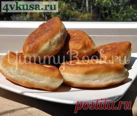 Жареные пирожки   4vkusa.ru
