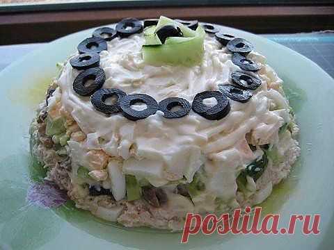 Очень вкусный салат кулинарный рецепт с фото от Paragrams