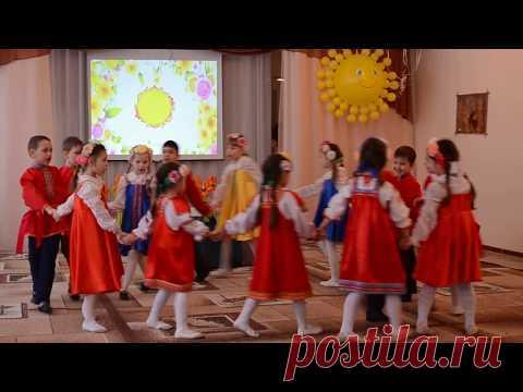 танец Хоровод - Хореографический ансамбль Вдохновение
