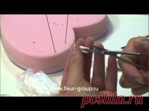 Керамическая флористика fleur - Урок 1 (часть 1).wmv - YouTube