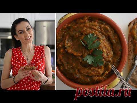 Икра Заморская Баклажанная - Рецепт от Эгине - Heghineh Cooking Show in Russian